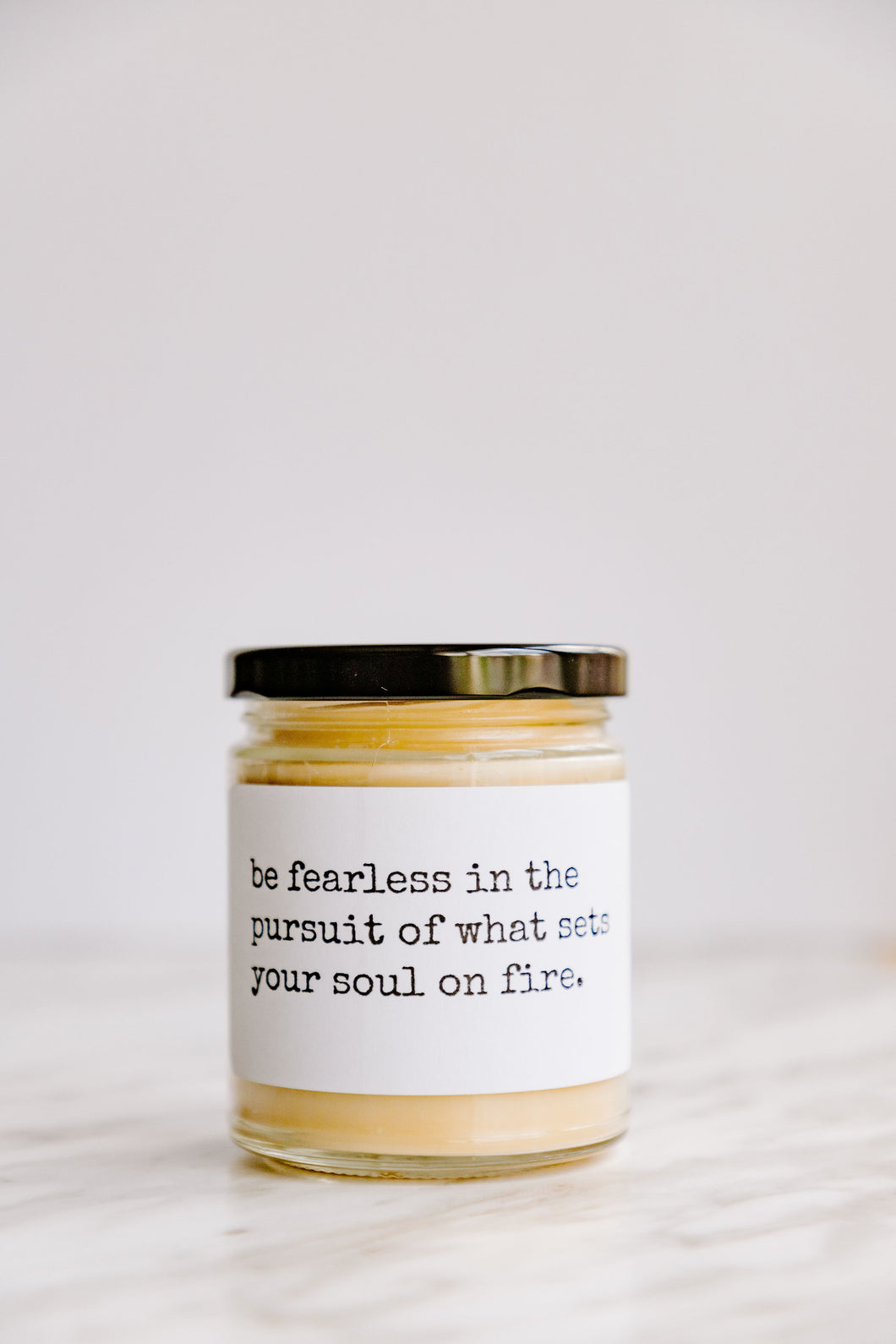 BE FEARLESS beeswax candle - Countryside Treasures