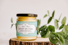 LIGHT MY FIRE (Campfire Smoke) beeswax candle - Summer Collection | Countryside Treasures