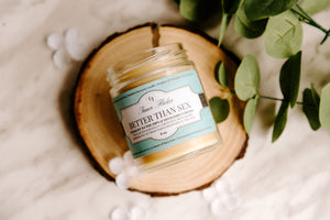 BETTER THAN SEX (Chocolate) beeswax candle - Spring Collection - Countryside Treasures