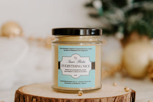 EVERYTHING NICE (Pumpkin Spice Latte) beeswax candle | Countryside Treasures