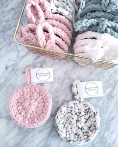 Reusable Body Rounds - Bee'z Crochet & Knit | Handmade Self Care Gifts | Countryside Treasures