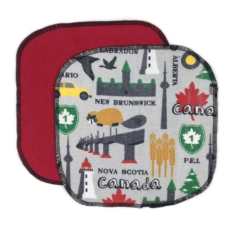 Reusable Cotton-Flannel Cloth Wipes - Countryside Treasures