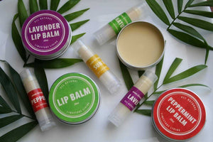 All-Natural Lip Balms - Countryside Treasures