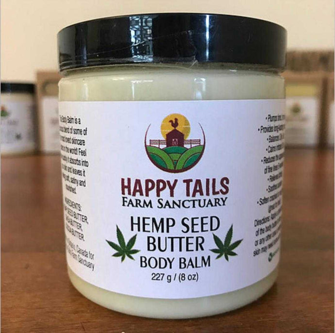 Hemp Seed Butter Body Balm (Vegan) - Countryside Treasures