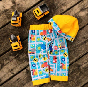 Baby Pants | Matching Hat - Countryside Treasures