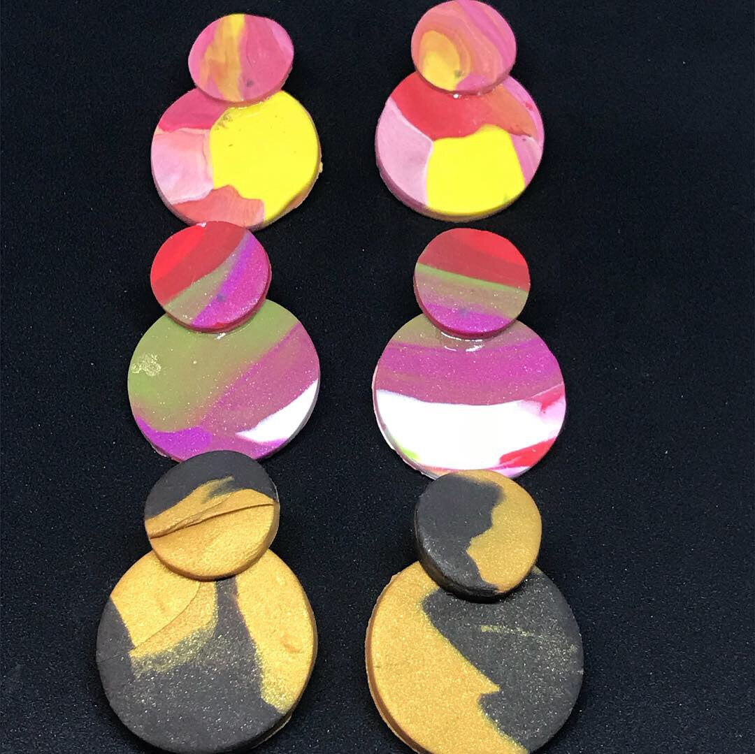 Gourd earrings - Eclectic Thought Catalog