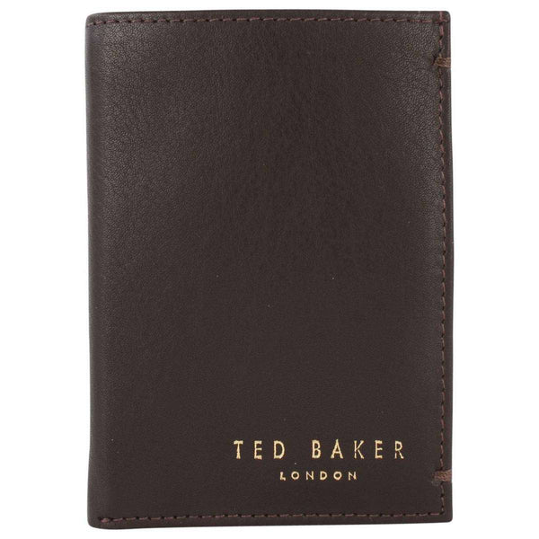 Ted Baker Brown Zacks Small Bifold Wallet