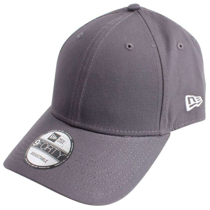 New Era Grey 9FORTY Flag Basic Cap