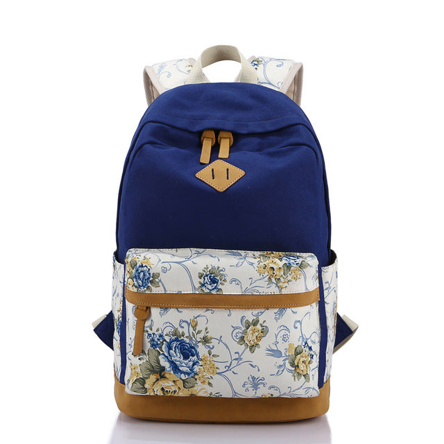 Floral Printing Wome Backpack