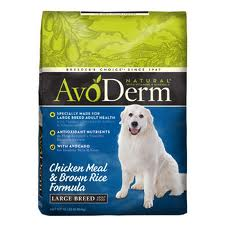 AvoDerm Natural Large Breed Adult Chicken Meal and Brown Rice Dry Dog Food