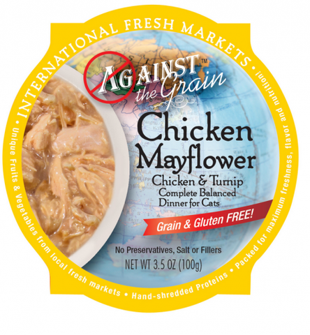 Against the Grain Chicken Mayflower with Turnip Dinner Wet Cat Food