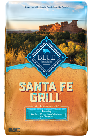 Blue Buffalo Regionals Santa Fe Grill with Chicken, Brown Rice, Chickpea, and Tomato Dry Dog Food