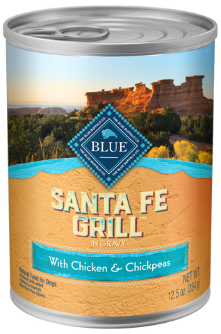Blue Buffalo Regionals Santa Fe Grill with Chicken, Brown Rice, Chickpea, and Tomato Canned Dog Food