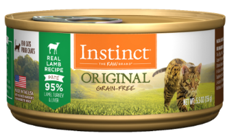 Nature's Variety Instinct Original Grain Free Real Lamb Recipe Canned Cat Food