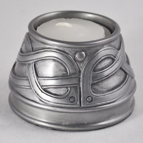 Candle Holder in Silver Finish by Design Clinic 4.5cm - Medium