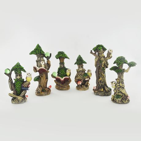 Tree Ent Set of Six 12cm - Small