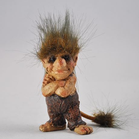 Crossed Arms Troll 10cm
