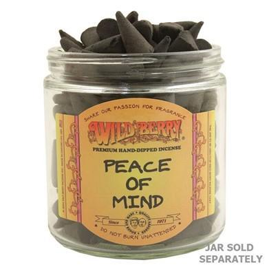 Wildberry Peace of Mind™ Incense Cones