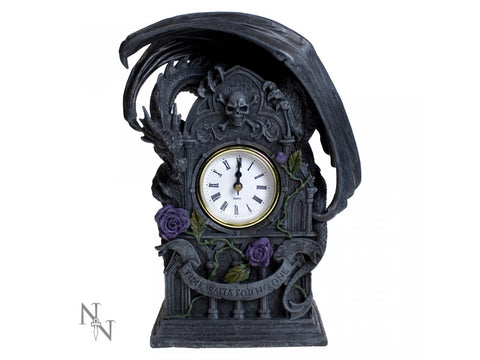 Dragon Beauty Clock by Anne Stokes 26cm
