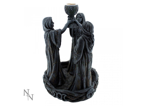 Mother Maiden and Crone Backflow Incense Burner 18cm