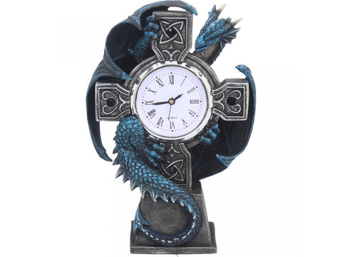 Draco Clock by Anne Stokes 17.8cm