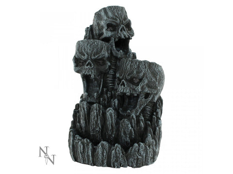 Skull Backflow Incense Tower 17.5cm