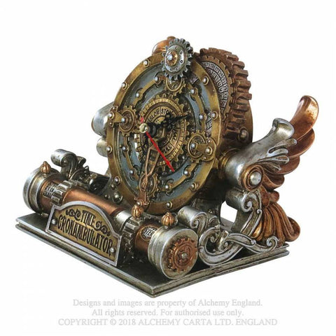 Time Chronambulator Desk Clock 14cm