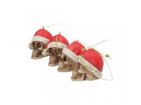 Silent Night Bauble Set of Four 4.3cm