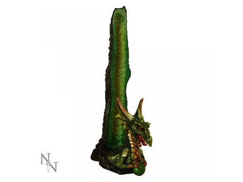 Emerald Stalagmite Incense Holder 26.2cm
