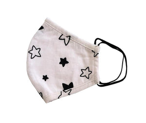 Child Face Mask in Star Print
