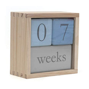 Baby Age Blocks - Blue