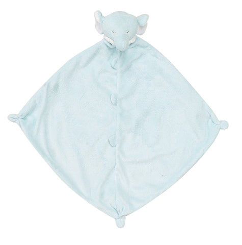 Angel Dear Lovey Blankie - Blue Elephant