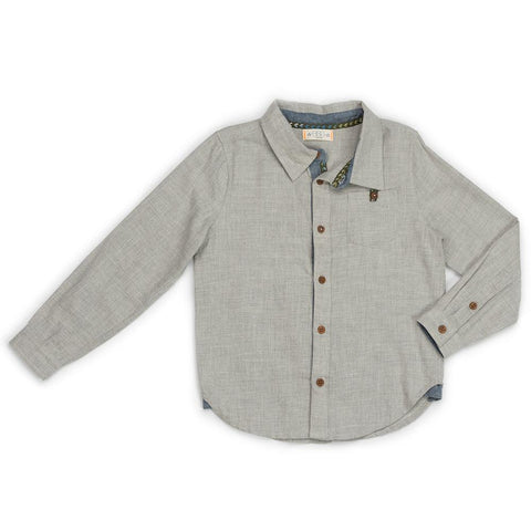 Flannel Gray Brendan Shirt