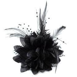 Feather Fascinator by BOWS & ARTS
