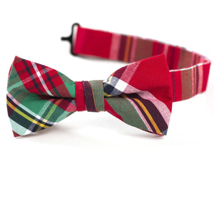 Frankfurt Plaid Bow Tie
