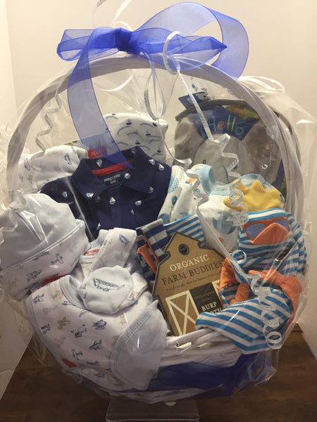 Custom Baby Gift Basket - In Store Pick Up Only