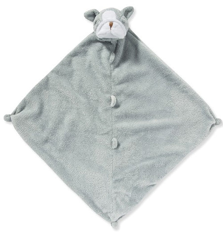 Angel Dear Lovey Blankie - Grey Bulldog