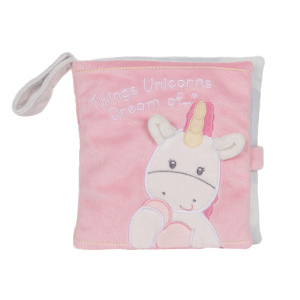Luna Unicorn Soft Book