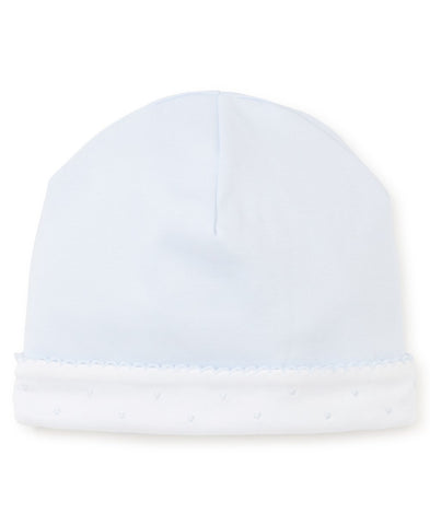 New Beginnings Baby Hat in Light Blue