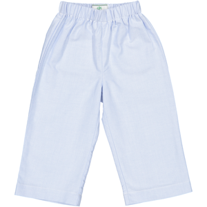 Myles Pant in Blue Oxford