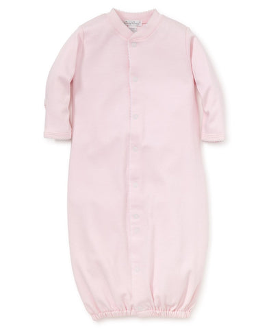 Pima Cotton Convertible Gown in Pink