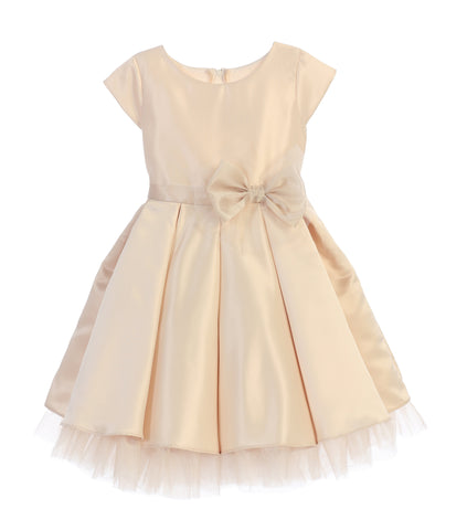 Classic Bow Party Dress by Sweet Kids