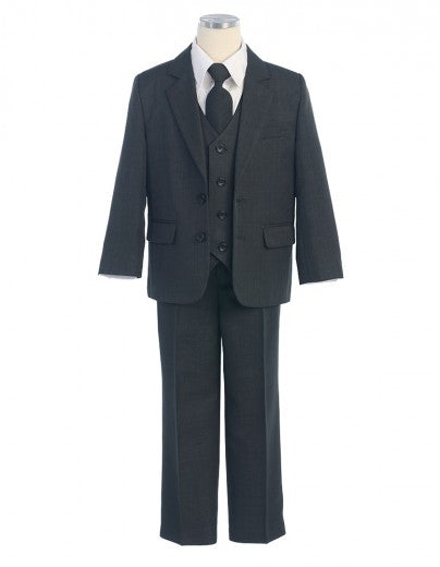 Boys Suit in Charcoal Gray