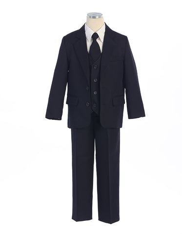 Boys Suit in Navy Blue
