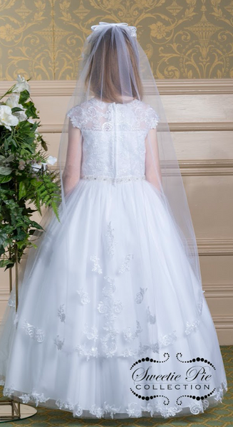 Communion Dress Style 4036 Tea Length
