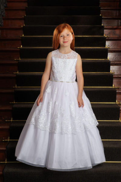 Communion Dress Style 4029 Tea Length