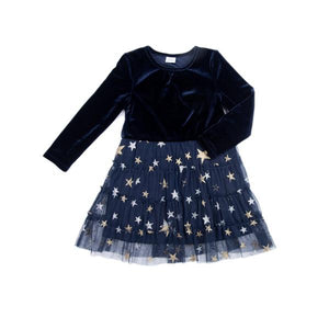 Millie Dress in Navy