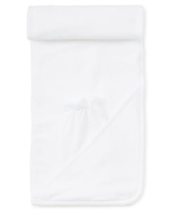 Hooded Towel with Mitt in Solid White