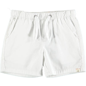 Twill Shorts in White