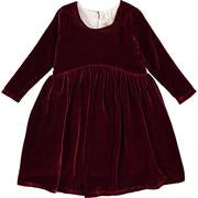 Charlotte Dress in Burgundy